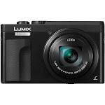 """Panasonic DMC-ZS70K Lumix 20.3 Megapixel 4K Digital Camera Black w/ Wi-Fi + 3"""" LCD Screen"""