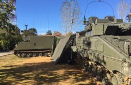 Puesto de Mando de Batallón Mecanizado