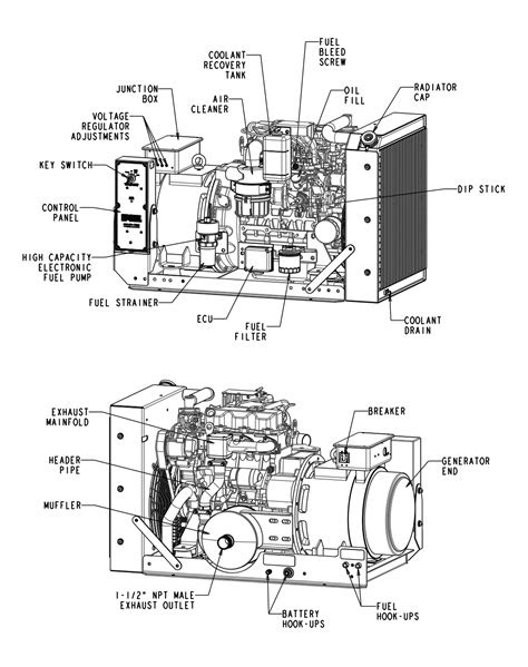 14 kW Diesel Generator Details | Engine Power Source