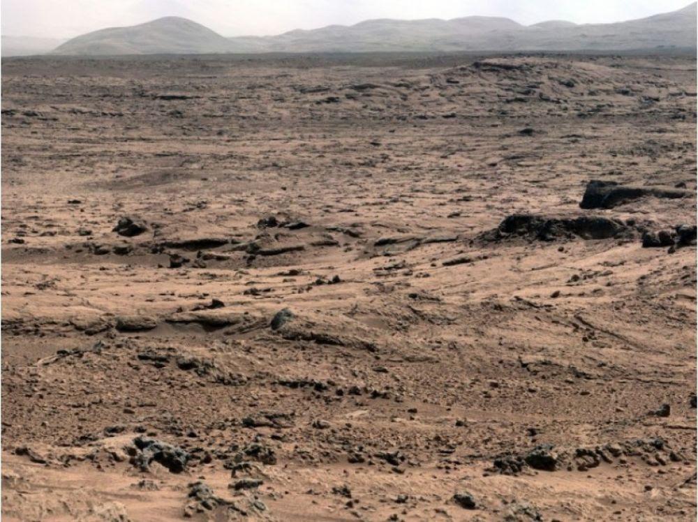 """Résultat de recherche d'images pour """"le panorama Rocknest par Curiosity"""""""