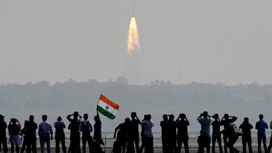 India launches record 104 satellites in single mission - BBC News