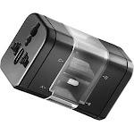 Insignia - Global Travel Adapter Kit - Black