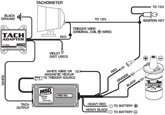 19 Beautiful Autogage Tachometer Wiring Diagram