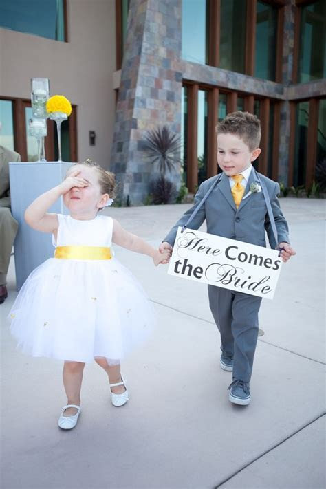 25  best ideas about Flower girl signs on Pinterest   Ring
