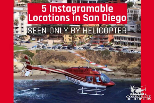 5 Instagrammable Locations in San Diego - Only seen by helicopter