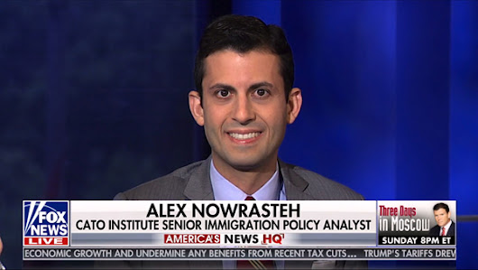 Alex Nowrasteh discusses the upcoming immigration bill on FOX's America's News HQ
