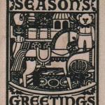 Seasons Greetings #10110 stamp from Viva Las Vegastamps!