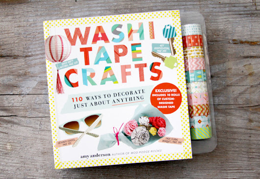 Washi Tape Crafts Book and Giveaway -