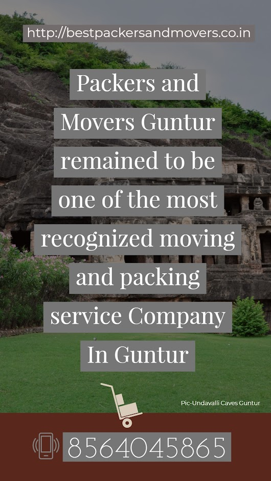 Which are the best packers and movers in guntur andhra pradesh?