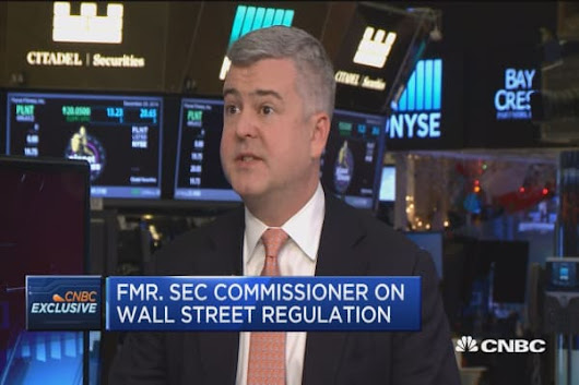 SEC under Trump: Dan Gallagher