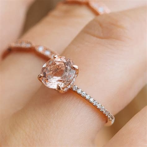 92 Rose Gold Engagement Rings For Every Bridal Style   Brides