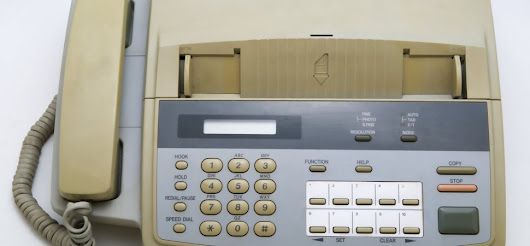 My First Fax Machine Cost Me $5,000