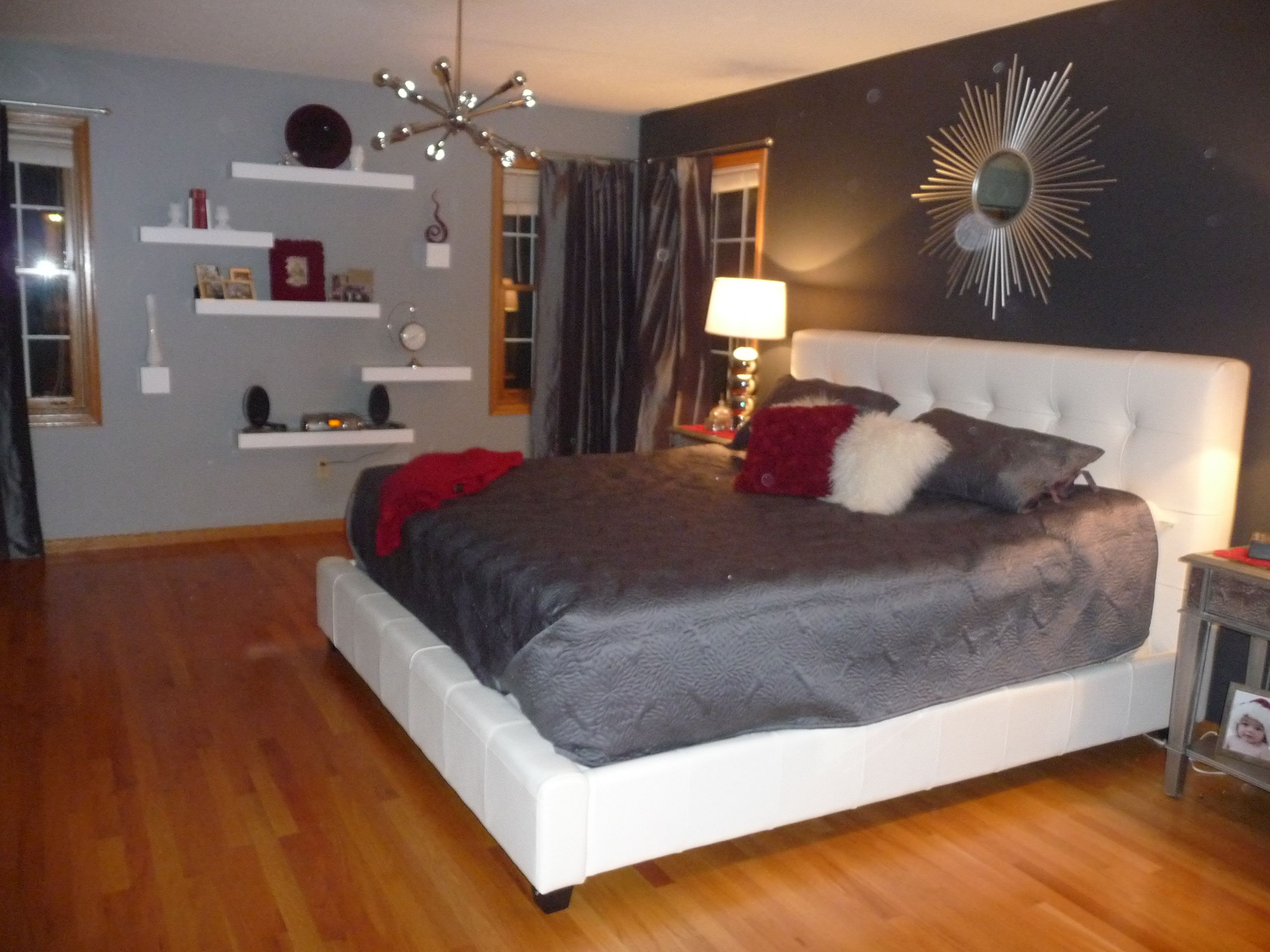 Another view of our Master bedroom. | Decorating Ideas ...