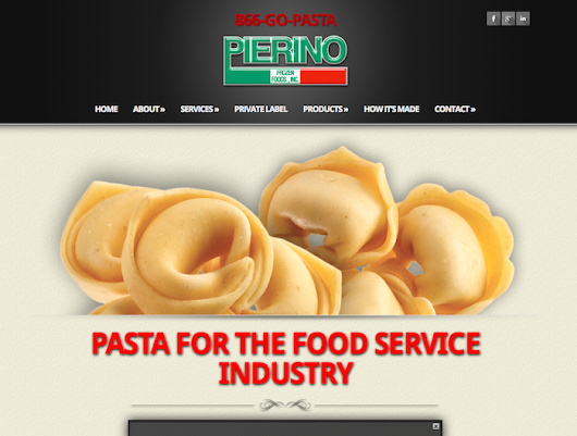 Pierino Frozen Foods | Food Industry Service Supply