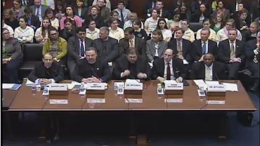 Congressional Birth Control Hearing Involves Exactly Zero People Who Have a Uterus