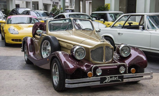Vintage Wedding Car Rental Malaysia | Classical Wedding