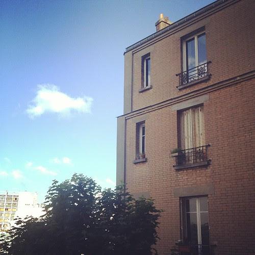 Lonely cloud by la casa a pois