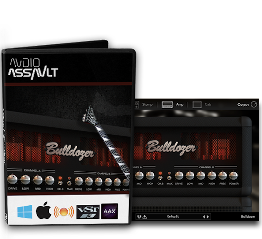 Review: Bulldozer VST Amp Plug-in from Audio Assault