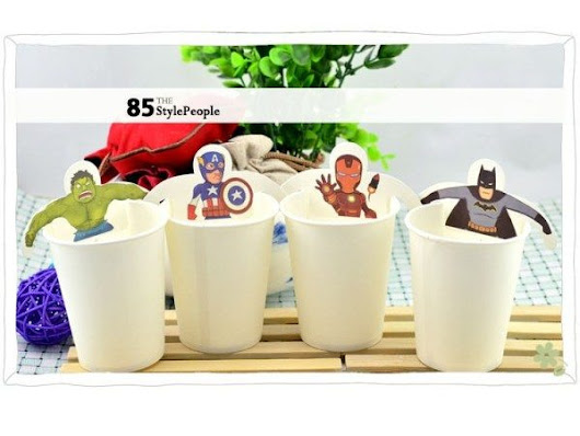 Super Heroes Teabags | The Gadget Flow