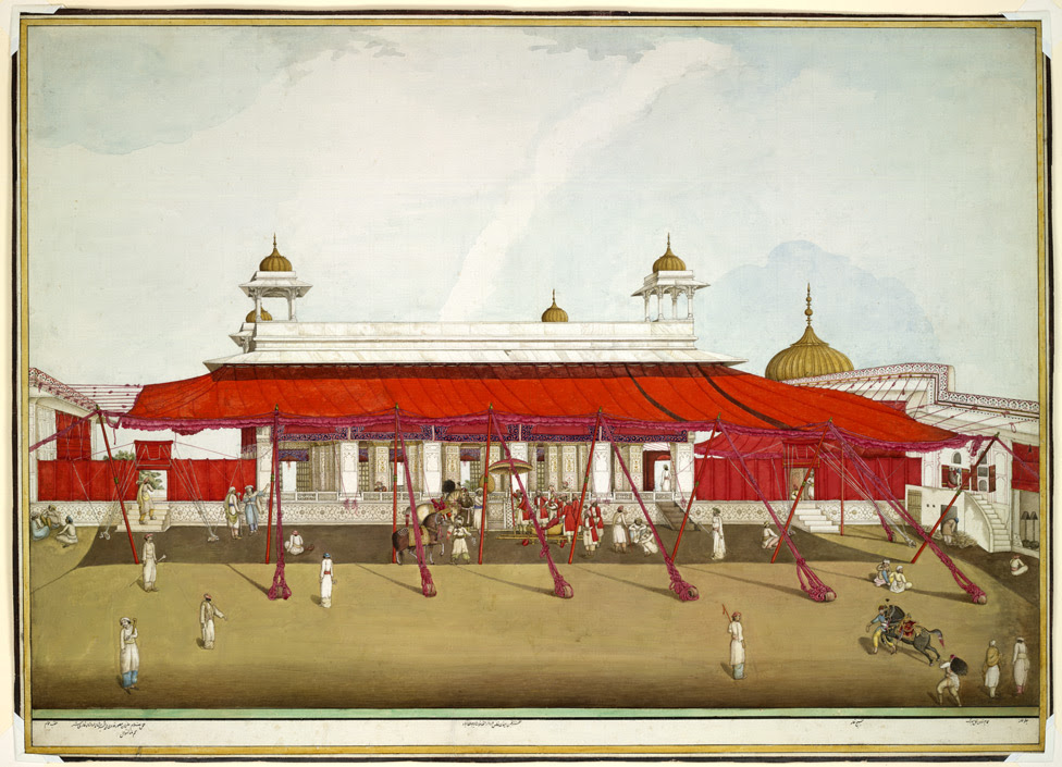 The Divan-i Khass in the Palace in the Delhi Fort