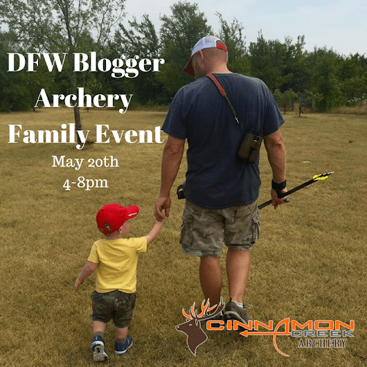DFW Blogger Archery Family Event May 20th | Forever Green Mom