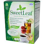 Sweet Leaf Stevia Sweetener - 70 packets, 2.5 oz box