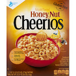 Cheerios Cereal, Honey Nut - 2 pack, 27.5 oz boxes
