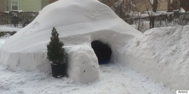 Some Genius In New York Built An Igloo And Put It On Airbnb