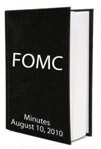 FOMC August 2010 Minutes