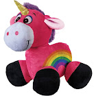 "Alta Inflatable 20"" Unicorn, Plush Hypo-Allergenic Stuff Toy, Ride-On"