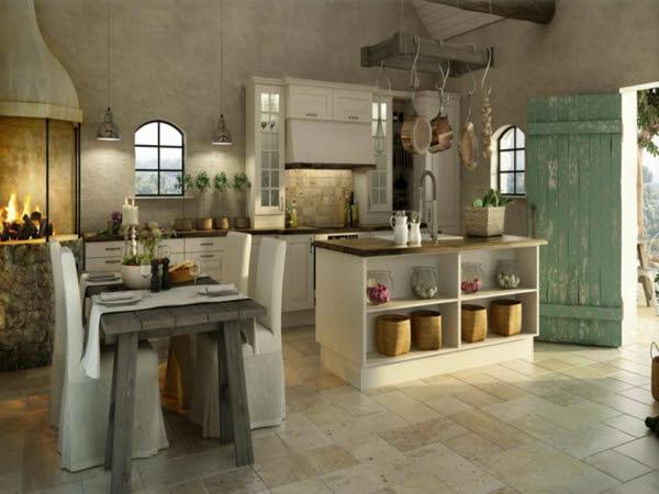 Moderne Landhausküchen - schöne Küchen-Designs, die Sie ...