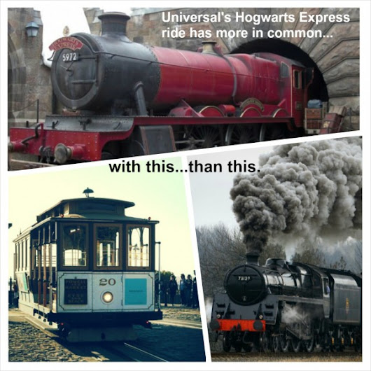 How the Hogwarts Express works - Coaster101