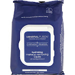 Mineral Fusion Overnight Renewal Hydrating Makeup Removing Wipes 30