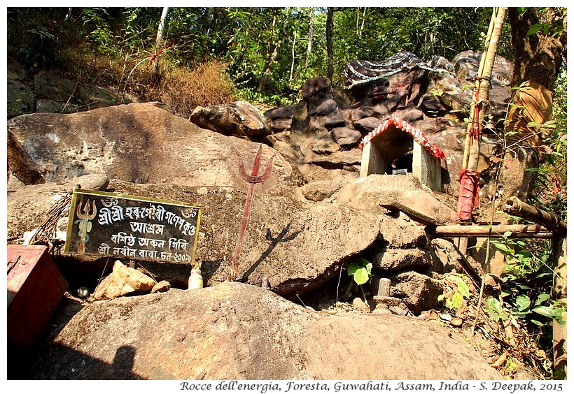 La roccia dell'energia, Assam India - Images by Sunil Deepak