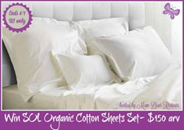 SOL organic cotton sheets