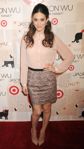 Emmy Rossum - Celebs at the Launch of 'Jason Wu for Target'