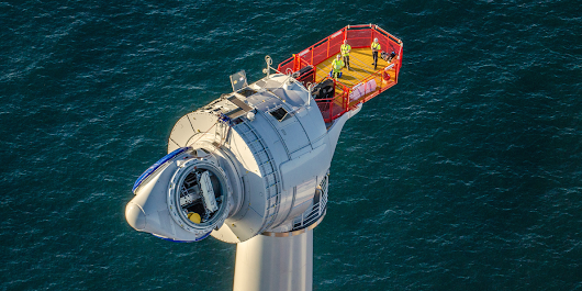 America's first offshore wind farm just launched with GE turbines twice as tall as the Statue of Liberty