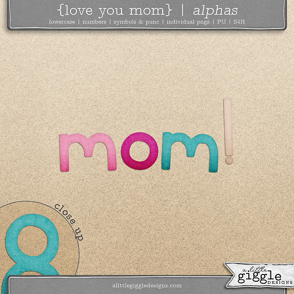 NDS Freebie Digital Scrapbooking Alpha