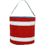 SailorBags Bucket Bag Red/White