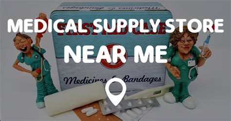 medical supply store   points