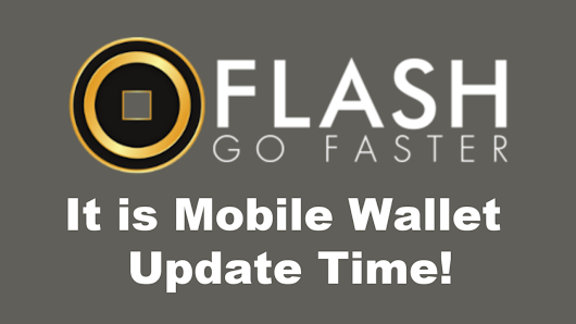 Flash Mobile Wallet Update for IOS /Android and Coinhub Listing. — Steemit
