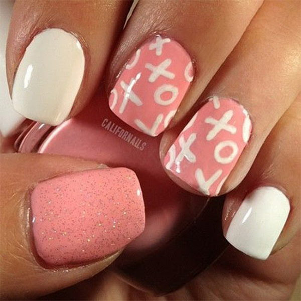 50 Cute Valentines Nail Designs With Hearts - Noted List