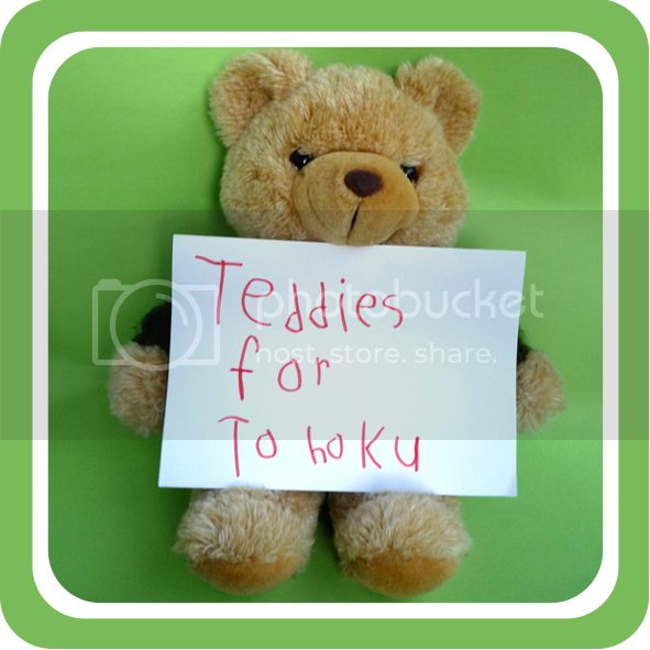 teddies for tohoku