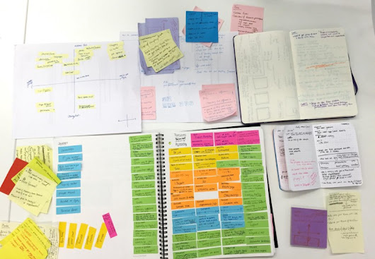 The Notebooks of Optimizely's Design Team: A Photo Essay