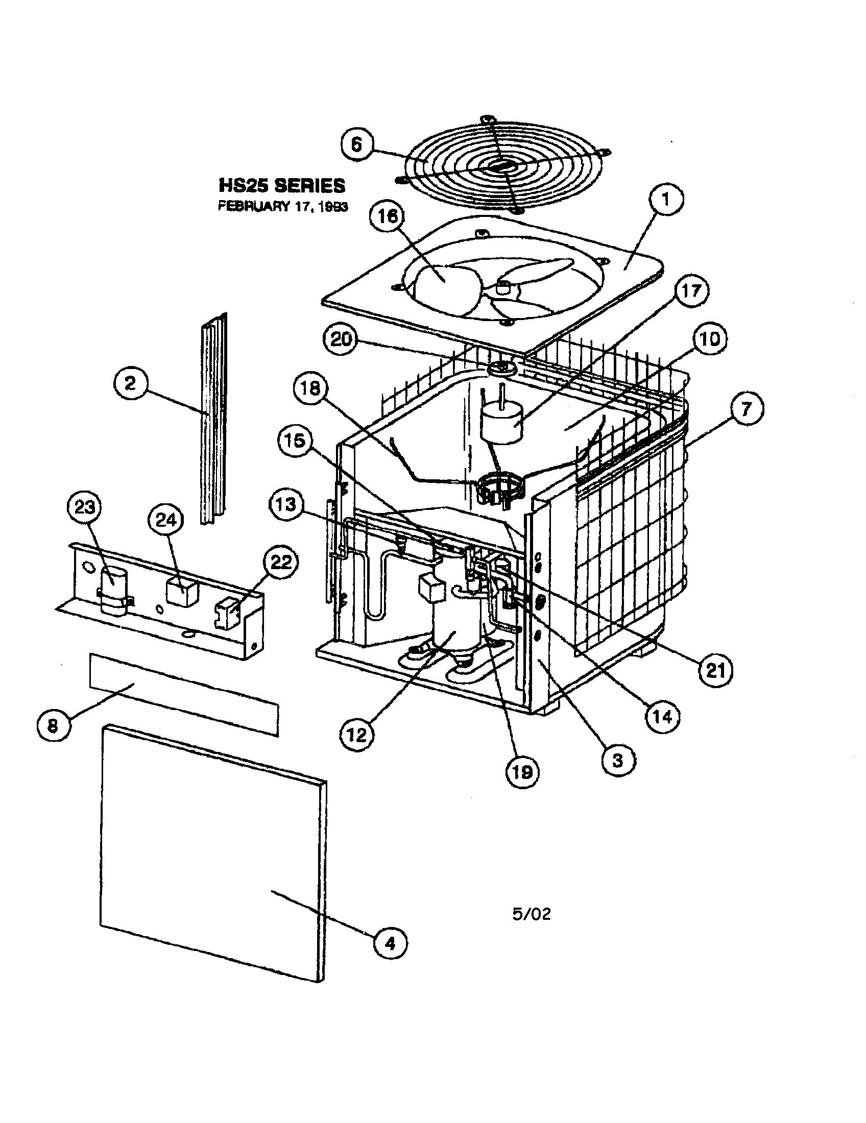 Heat Pump Parts Diagram : parts, diagram, Diagram, Parts, Wiring, Database