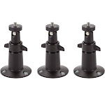 Security Metal Wall Mount Adjustable Indoor/Outdoor Mount Compatible with Arlo, Arlo Pro, Arlo Pro 2 and Other Compatible Models by Wasserstein 3 Pac