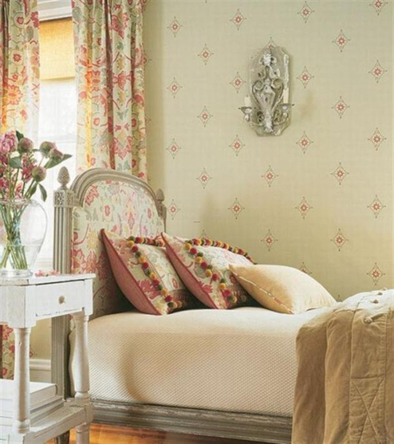 Design Interior Of Modern Bedroom Country Style French On ...