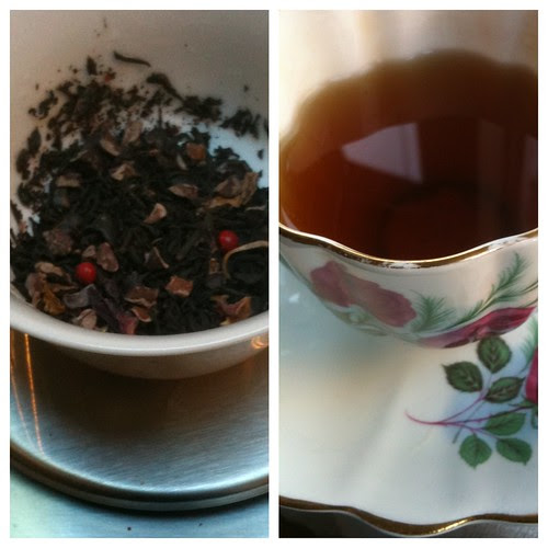 Roses et Chocolat tea blending by Ayala Moriel