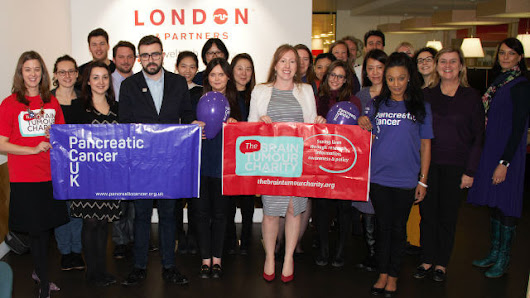 London & Partners announces new partnership with cancer charities