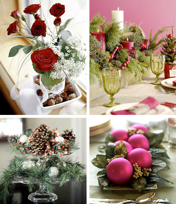 50 Great amp; Easy Christmas Centerpiece Ideas  DigsDigs